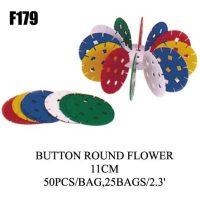 FLORES DE CONSTRUCCION 11CM 50PCS. F179 (25)