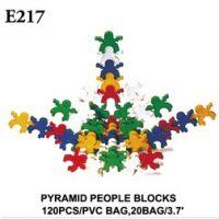 PERSONITAS CONECTABLES PIRAMIDE 120PCS E217 (20)