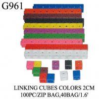 CUBOS CONECTABLES 2CM FIG. GEOMETRICAS G-961 (40)