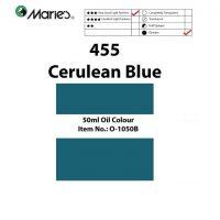 OLEO MARIE 50ML O-1050B AZUL CERULEO 455 (5-180)
