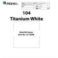 OLEO MARIE 50ML O-1050B BLCO TITANIUM 104 (5-180