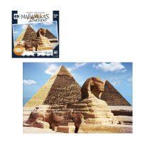 PUZZLE 2000 PIEZAS MARAVILLAS DEL MUNDO - PIRÁMIDE DE GUIZA EGIPTO