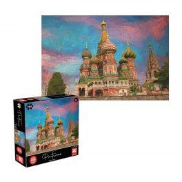 PUZZLE 1000 PIEZAS PINTURAS - MOSCU, RUSIA