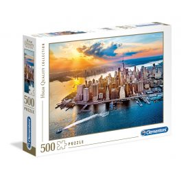 Puzzle New York - 500 piezas - High Quality Collection - Clementoni