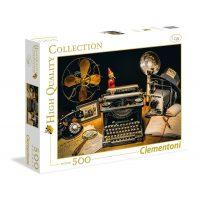 Puzzle La Maquina de Escribir - 500 piezas - High Quality Collection - Clementoni