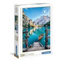 Puzzle Lago Bries - 500 piezas - High Quality Collection - Clementoni