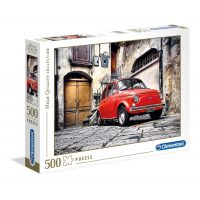 Puzzle Fiat Rojo - 500 piezas - High Quality Collection - Clementoni