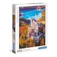 Puzzle El Castillo de Neuschwanstein - 1000 piezas - High Quality Collection - Clementoni
