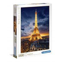 Puzzle Torre Eiffel - 1000 piezas - High Quality Collection - Clementoni