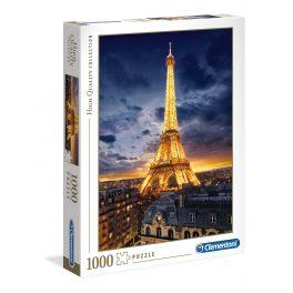Puzzle Torre Eiffel - 1000 piezas - High Quality Collection - Clementoni