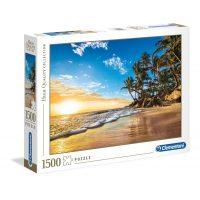 Puzzle Amanecer Tropical - 1500 piezas - High Quality Collection - Clementoni
