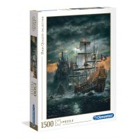 Puzzle Barco Pirata - 1500 piezas - High Quality Collection - Clementoni