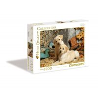 Puzzle Labradores - 1500 piezas - High Quality Collection - Clementoni