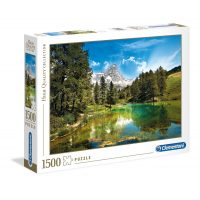 Puzzle Lago Azul - 1500 piezas - High Quality Collection - Clementoni
