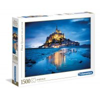Puzzle Le Mont Saint Michel - 1500 piezas - High Quality Collection - Clementoni