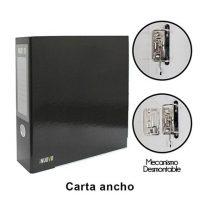 ARCHIVADOR CARTA ANCHO BLACK (648 X 350)