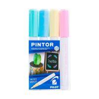 Set Pintor Extra Fino 4 Amarillo Pastel, Verde Pastel, Azul Pastel, Rosado Pastel