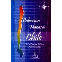 Mapa de Chile n° 1 Politico Administrativo