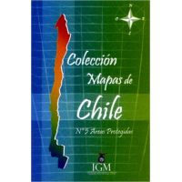 Mapa de Chile n° 5 Areas Protegidas