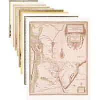 Mapas Antiguos Grandes - 9 Modelos distintos