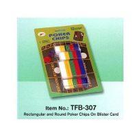 JUEGO DE FICHAS (DISPLAY) TFB-307 120 PCS. (24-96)