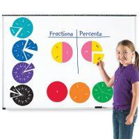 FRACCIONES Y PORCENTAJES CIRCULARES MAGN.19CM1616