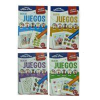 APRENDO EN CASA BLOC DE JUEG. CAC093 (4-12)