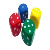 DADOS DE PUNTOS COLOR 4PCS 4.2CM GB-P4D4 (100)