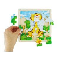 Puzzle Tigre Madera
