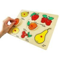Encaje Fruta c/Mango Madera