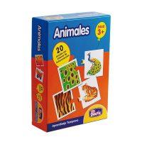 Puzzle Animal Carton
