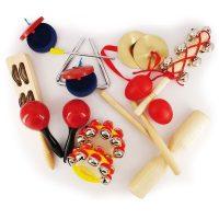 Set Instrumentos Percusion 14u
