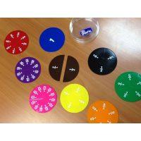 Fraccion Circular Plastico 51u