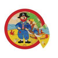 Puzzle Pirata Madera