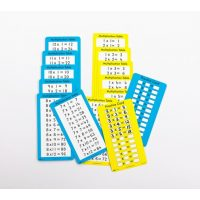 TABLA MULTIPL.MURAL BORRAB.46x50CM.39362 (100-200)