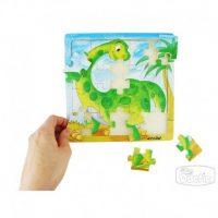 Puzzle Dinosaurio Madera (012)